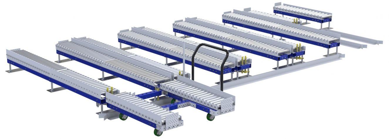 Roller Rack - 1260 x 2870 mm