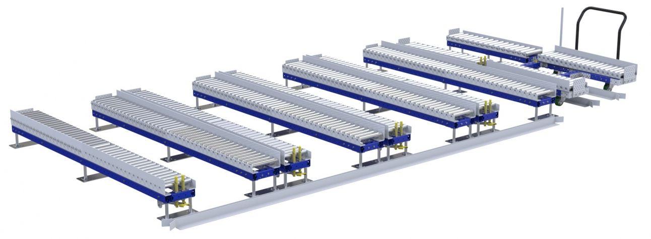 Roller Rack – 1260 x 1400 mm