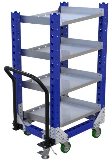 Flow Shelf Cart - 630 x 770 mm