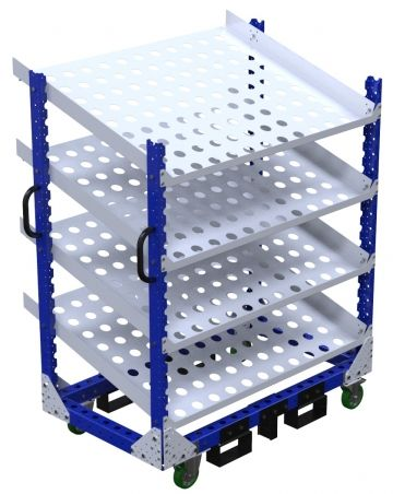 Floor Shelf Cart - 770 x 1330 mm