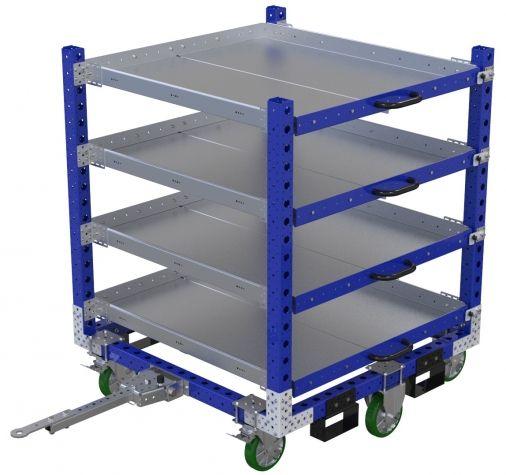 Shelf Cart - 1260 x 1260 mm