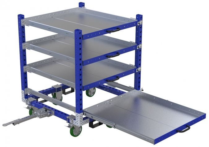 Shelf Cart - 1260 x 1260 mm