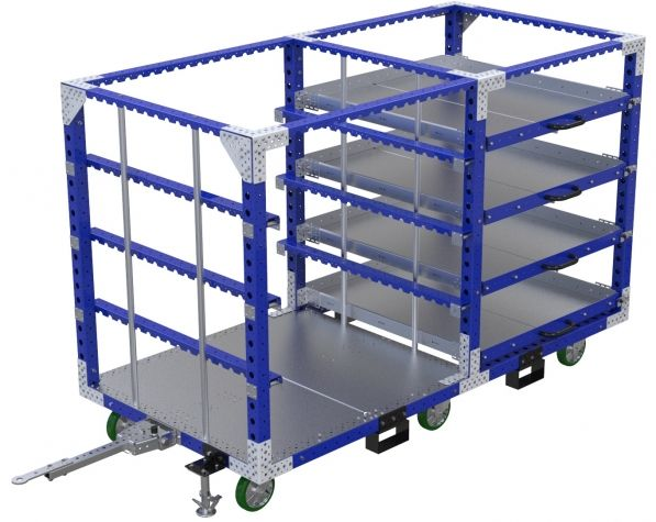 Shelf Kit Cart - 1260 x 2590 mm