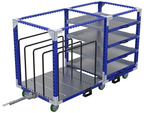 Shelf Kit Cart - 1260 x 2730 mm