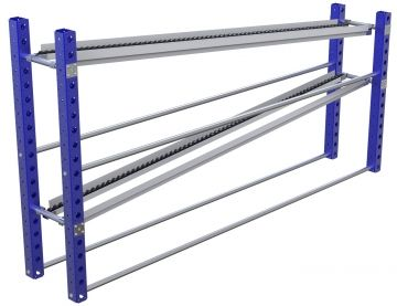 Flow Rack - 420 x 2520 mm
