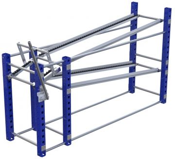 Flow Rack - 630 x 2240 mm