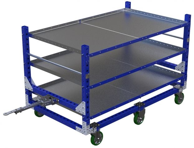 Flat Shelf Cart - 1260 x 2170 mm