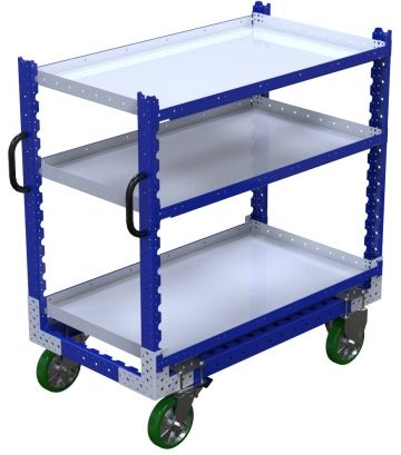 Flat Shelf Cart – 700 x 1260 mm