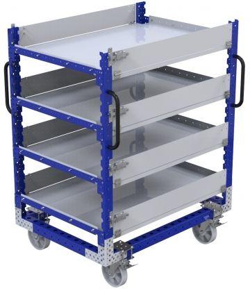 Flat Shelf Cart – 910 x 1260 mm