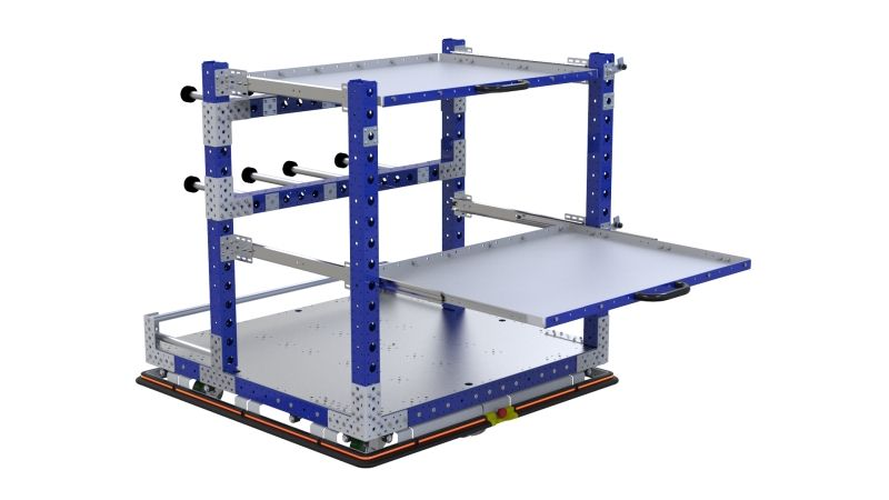 FlexQube eQart design for ProMAT