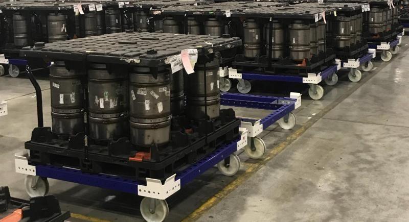 FlexQube pallet carts improve ROI