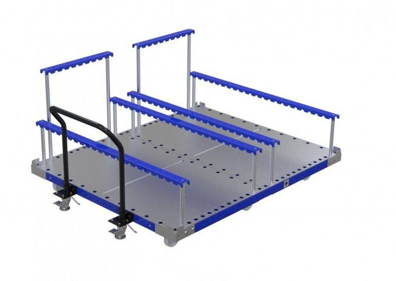 Material handling cart for seats by FlexQube