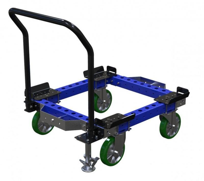 Small pallet and container cart by FlexQube