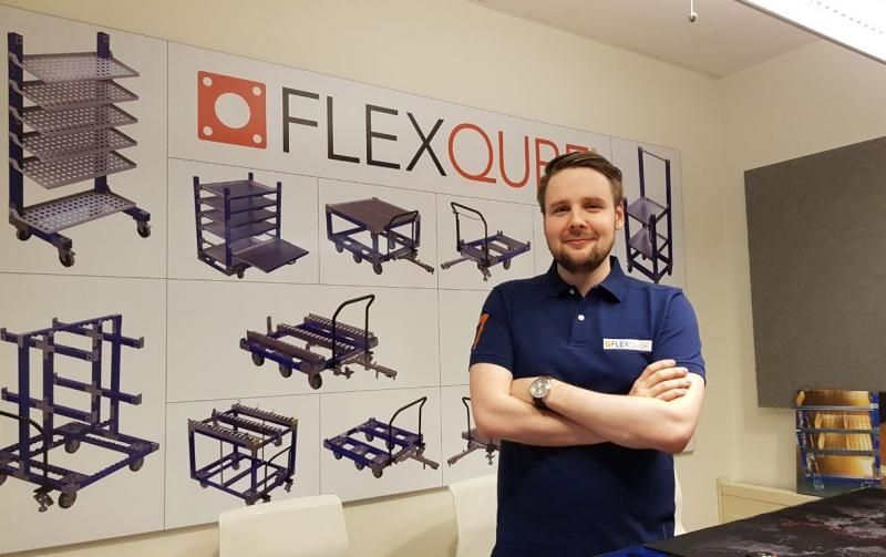 FlexQube design manager Olof Brown