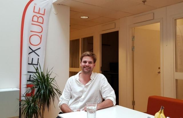eQart product manager Christoph Stangl