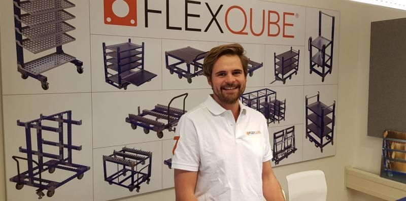 FlexQube german design manager Christoph Stangl