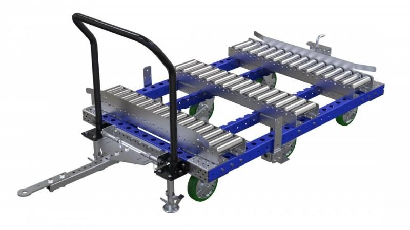 FlexQube transfer station cart