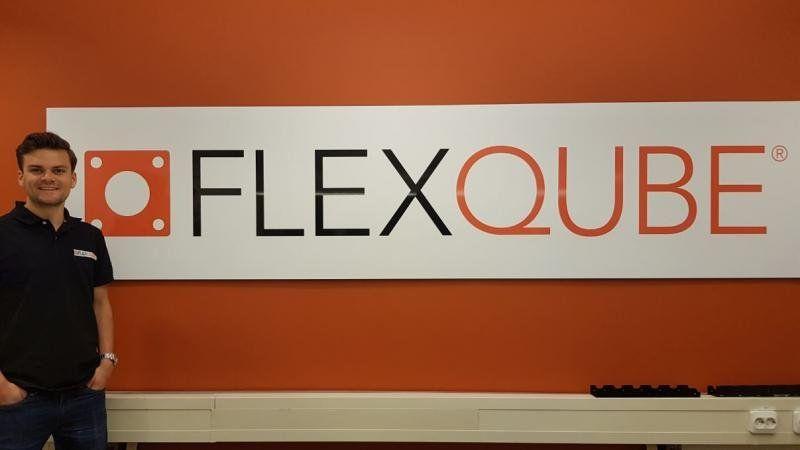 FlexQube SCM manager Adam Fredriksson