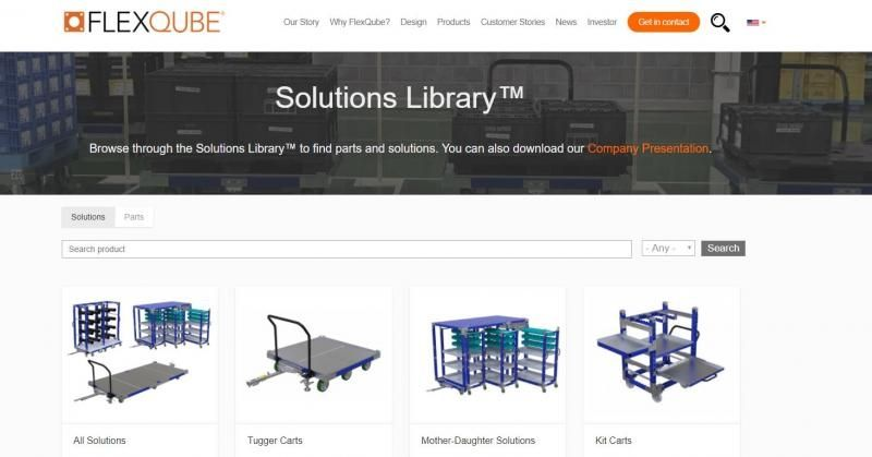 FlexQube old solutions library image