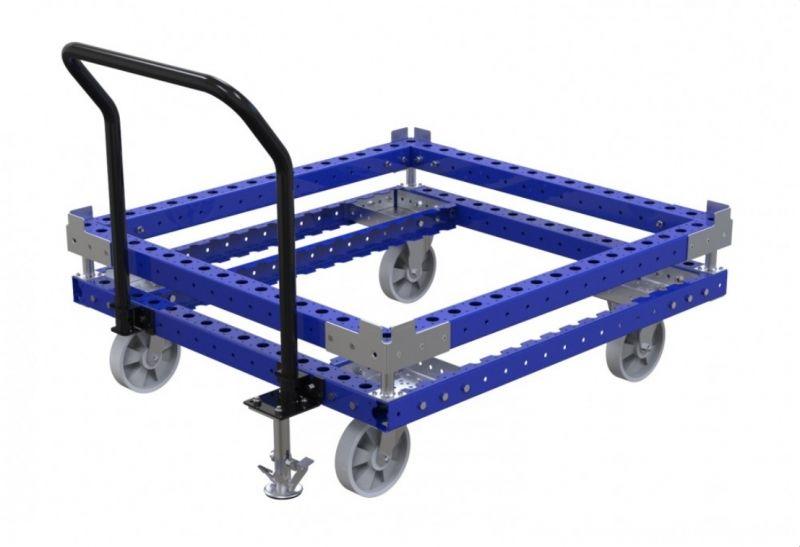 Industrial push trolley by FlexQube