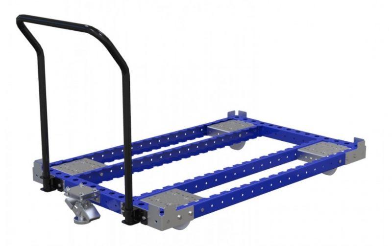 Modular push cart by FlexQube