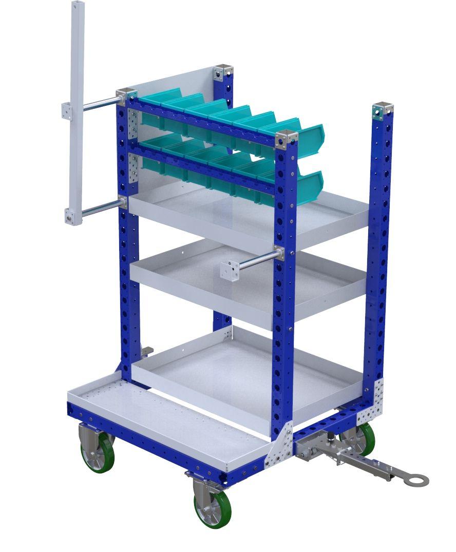 FlexQube kit cart at Siemens in California