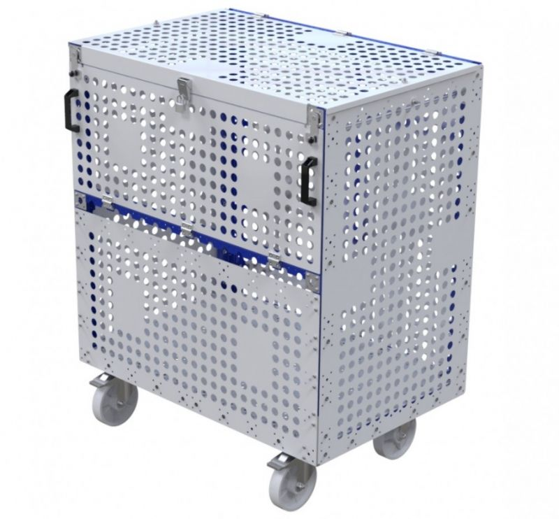 Air freight material cart by FlexQube