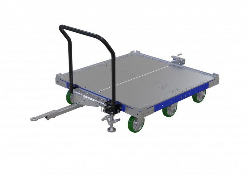 FlexQube 50 x 50 inch tugger cart
