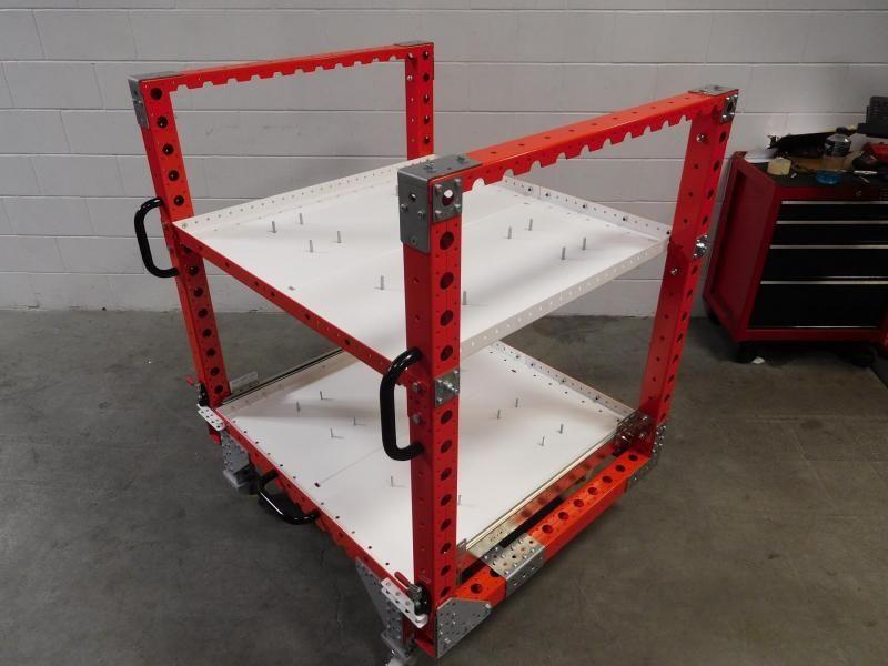 Custom designed FlexQube kit cart