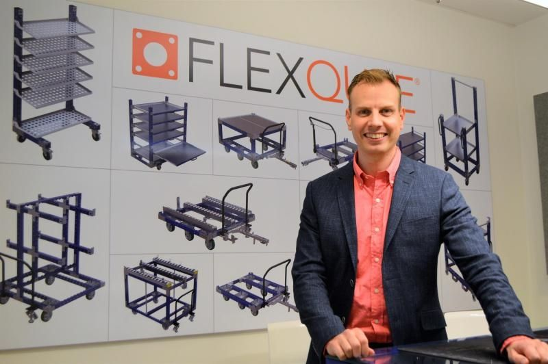 FlexQube CEO Anders Fogelberg