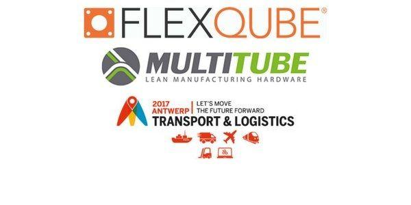 FlexQube & Multitube at Transport & Logistics in Antwerp