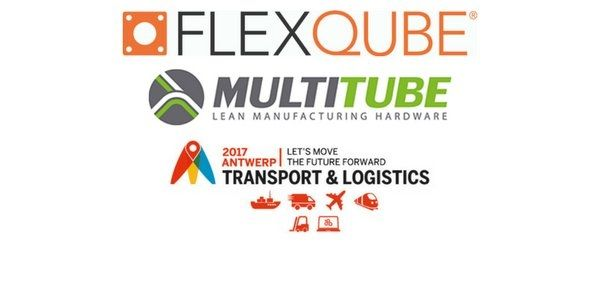 FlexQube & Multitube at Transport & Logistics in Antwerp