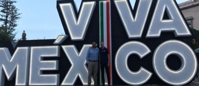 FlexQube CEO Anders Fogelberg in Mexico