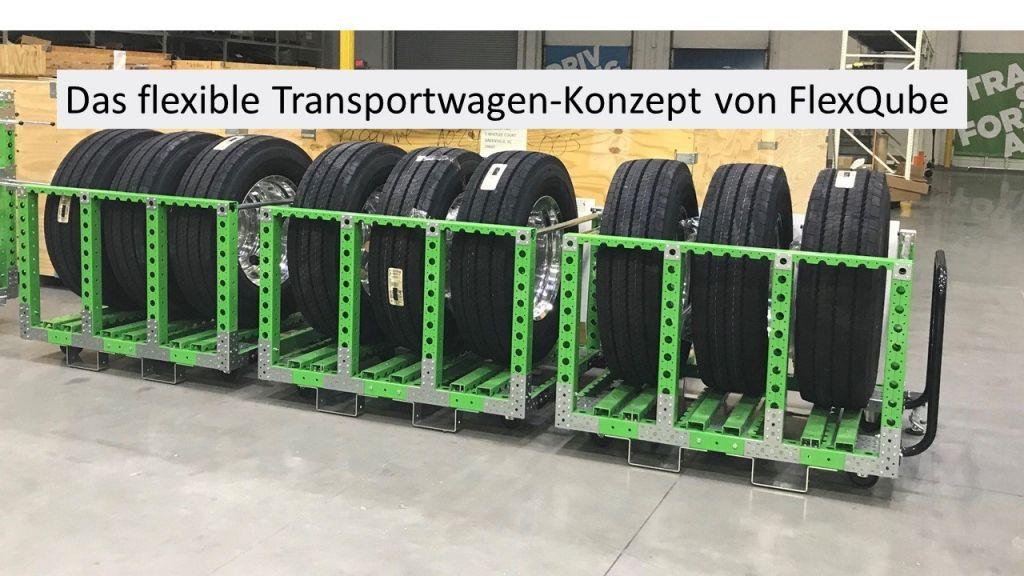 Das flexible Transportwagen-Konzept von FlexQube