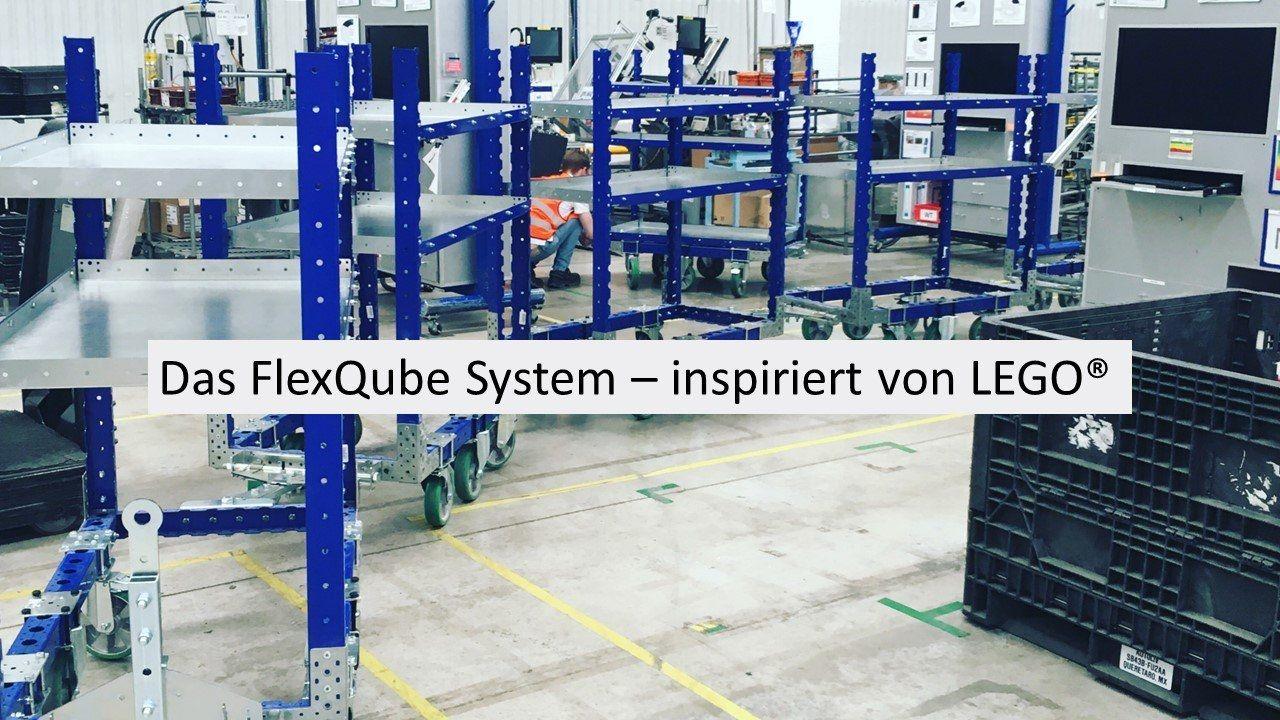Das FlexQube System - Inspiriert von LEGO®