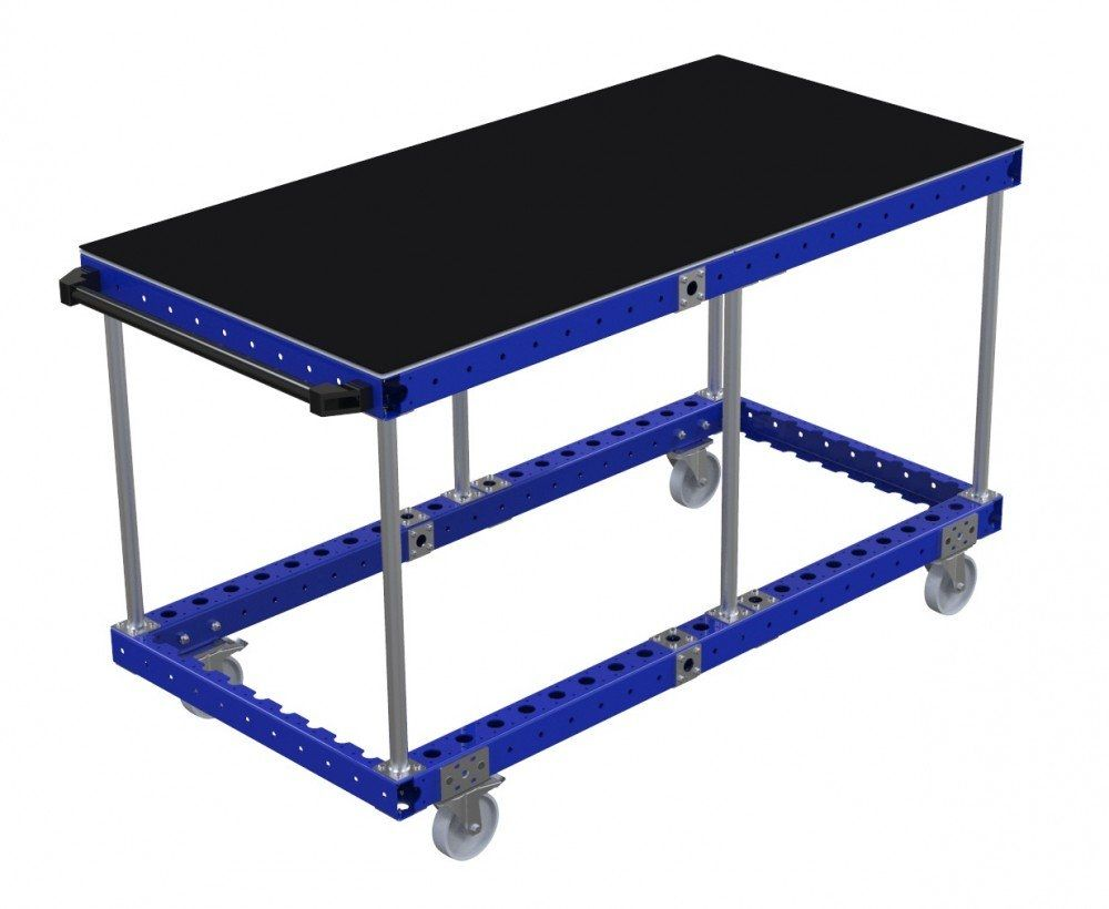 FlexQube assembly table for industrial use