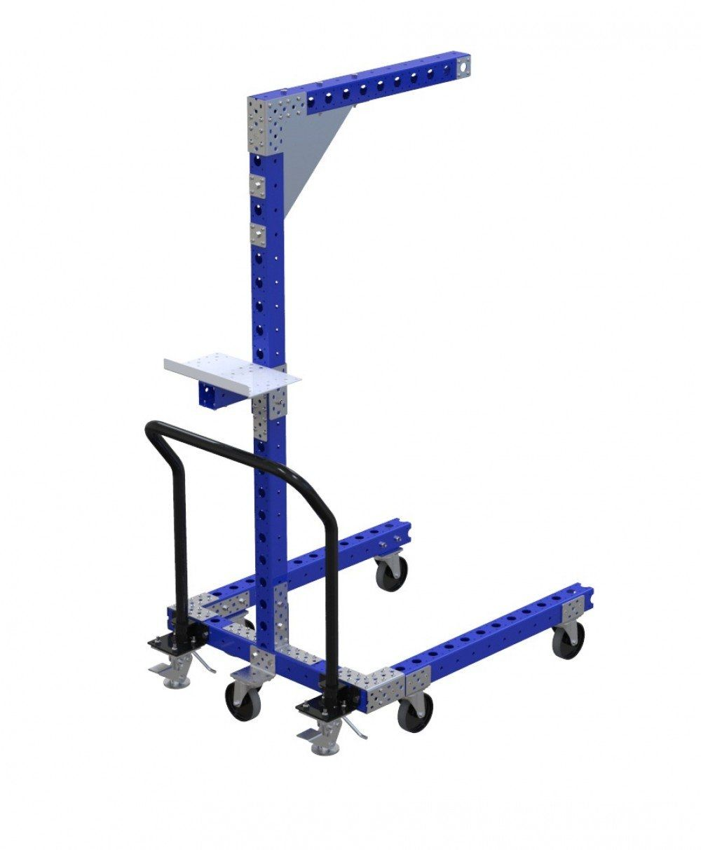 Industrial tool balancer cart by FlexQube