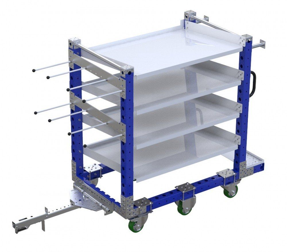 FlexQube kit cart with tow bar