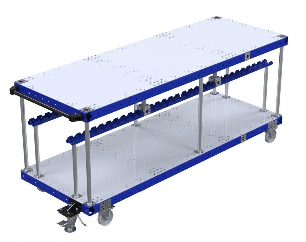 Industrial assembly cart