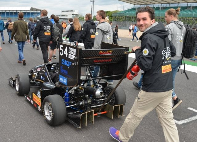 FlexQube sponsored top ranking team in Formula Student!