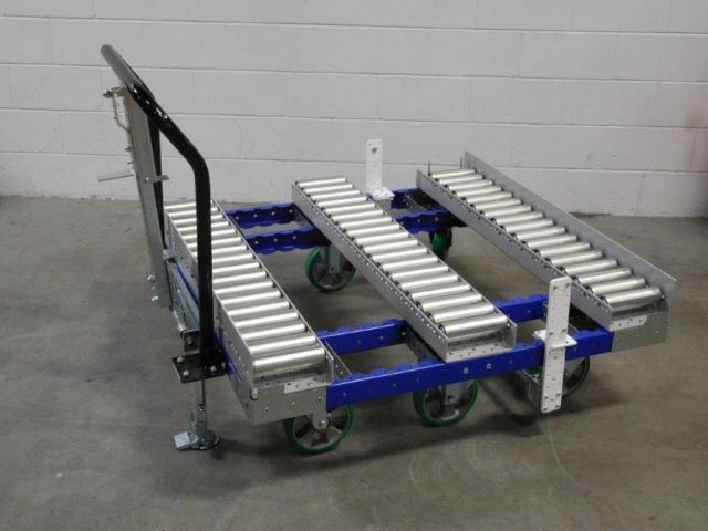 FlexQube pallet transfer cart