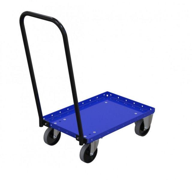 Modular material handling totes trolley