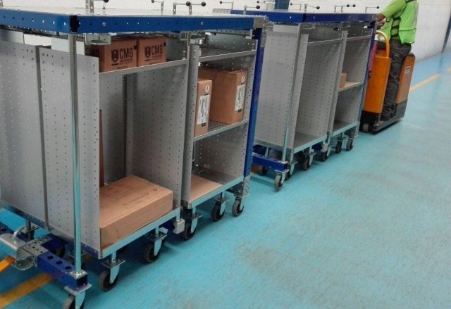 First order for 4 in 1 Cart System to major Bus Manufacturer in Mexico