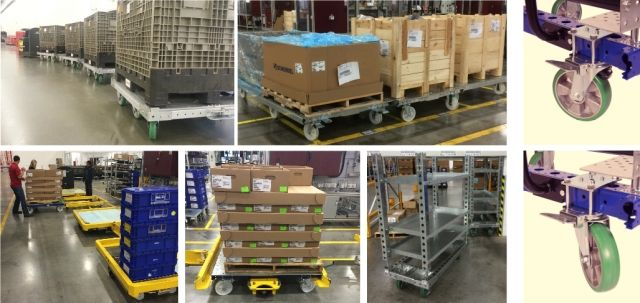 New order for 150 FlexQube trolleys to Brose Fahrzeugteile