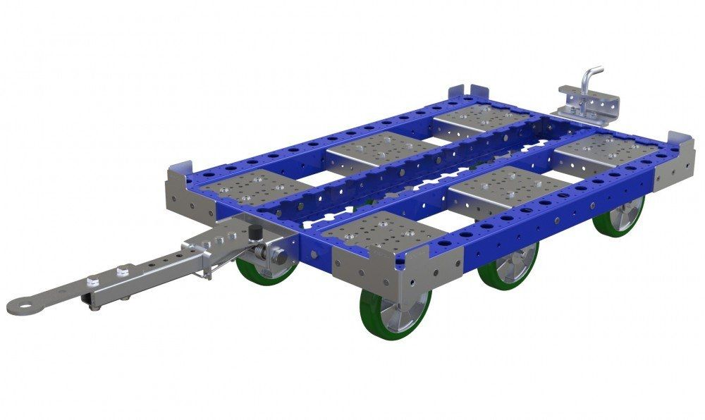 FlexQube industrial cart for material handling