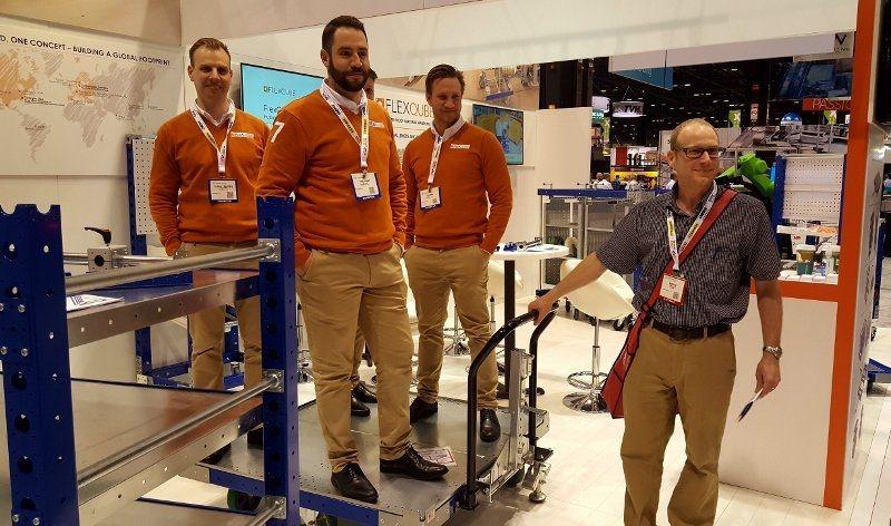 FlexQube carts roll easily
