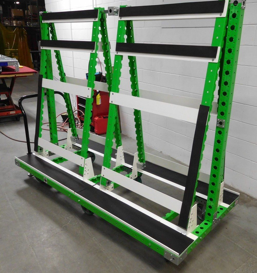 Windhield cart by FlexQube for automotive windhsields