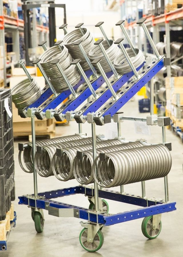 Benefits of a Flexible Material Handling System
