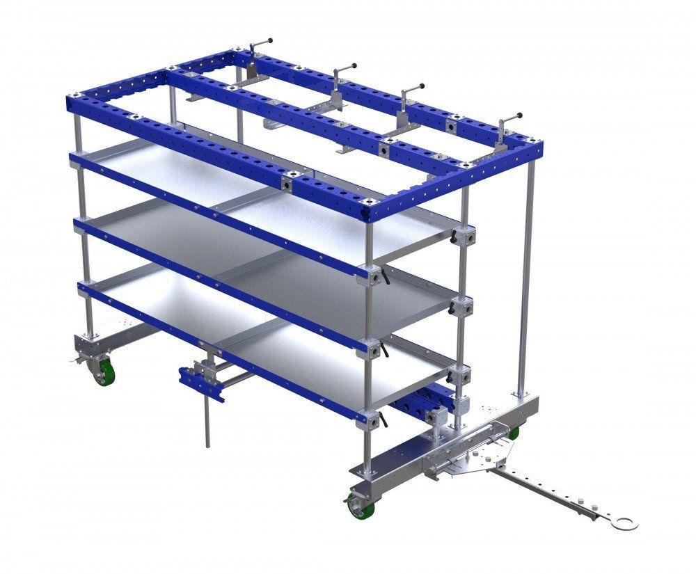 Custom design FlexQube kit cart