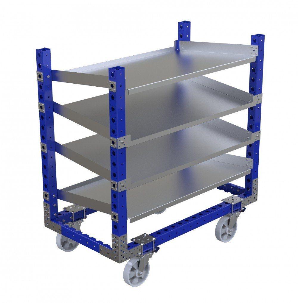 FlexQube flow shelf cart